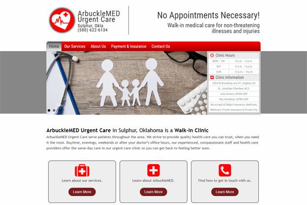 ArbuckleMED Urgent Care screenshot