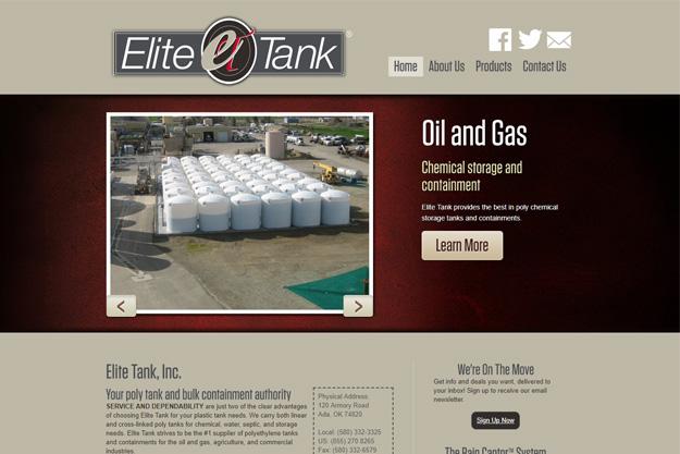 Elite Tank, Inc. screenshot