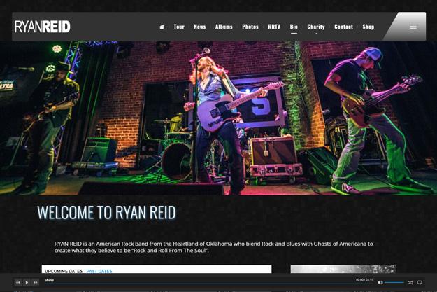 Ryan Reid Music screenshot